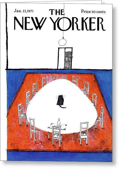 New Yorker January 23rd, 1971 Greeting Card