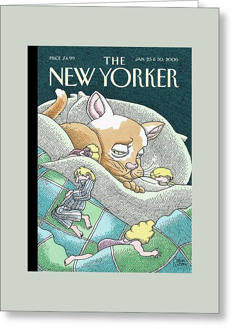 New Yorker January 23rd, 2006 Greeting Card by Gahan Wilson