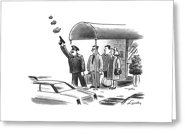 New Yorker January 24th, 1994 Greeting Card