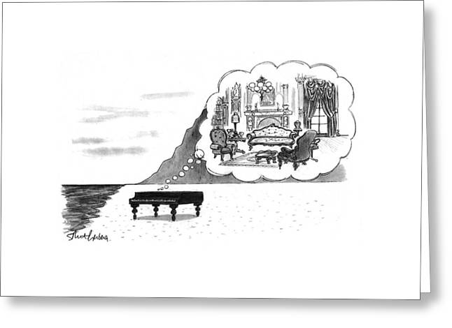 New Yorker January 24th, 1994 Greeting Card by Mort Gerberg