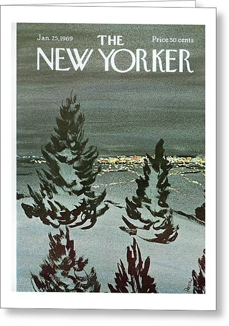 New Yorker January 25th, 1969 Greeting Card