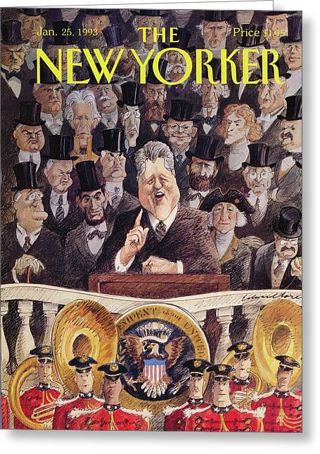 New Yorker January 25th, 1993 Greeting Card