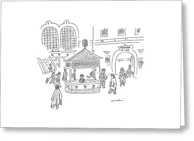 New Yorker January 25th, 1999 Greeting Card by Michael Maslin