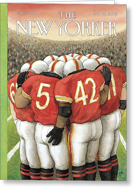 New Yorker January 27th, 2003 Greeting Card