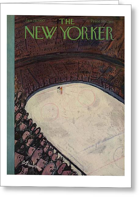 New Yorker January 28th, 1950 Greeting Card