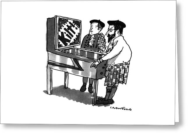 New Yorker January 28th, 1991 Greeting Card