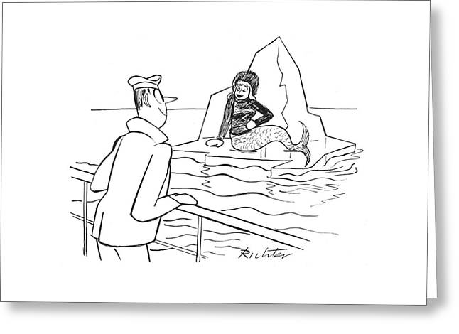 New Yorker January 29th, 1944 Greeting Card