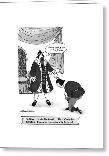 New Yorker January 29th, 1990 Greeting Card by J.B. Handelsman
