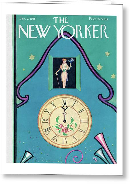 New Yorker January 2nd, 1926 Greeting Card
