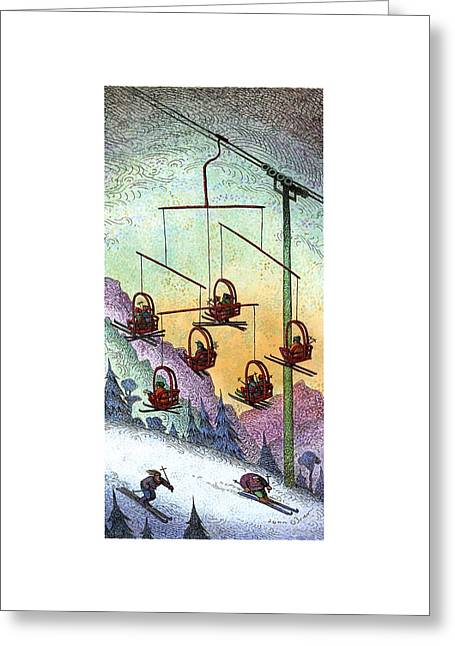 New Yorker January 30th, 1995 Greeting Card