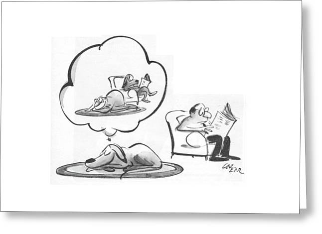 New Yorker January 31st, 1970 Greeting Card