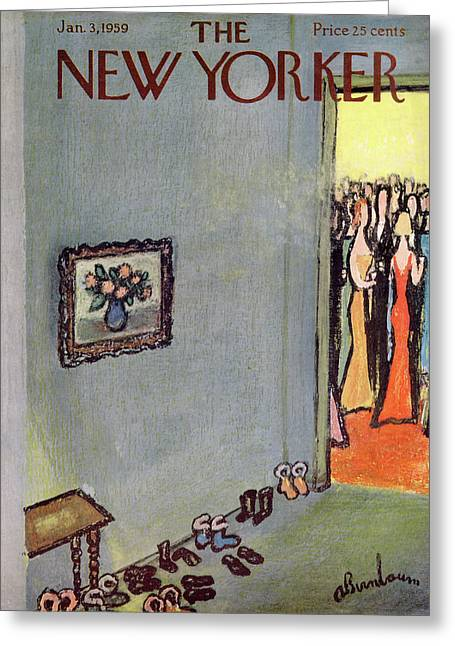 New Yorker January 3rd, 1959 Greeting Card