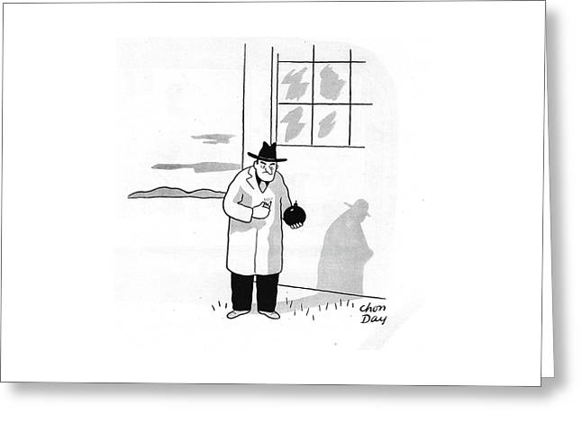 New Yorker January 4th, 1941 Greeting Card