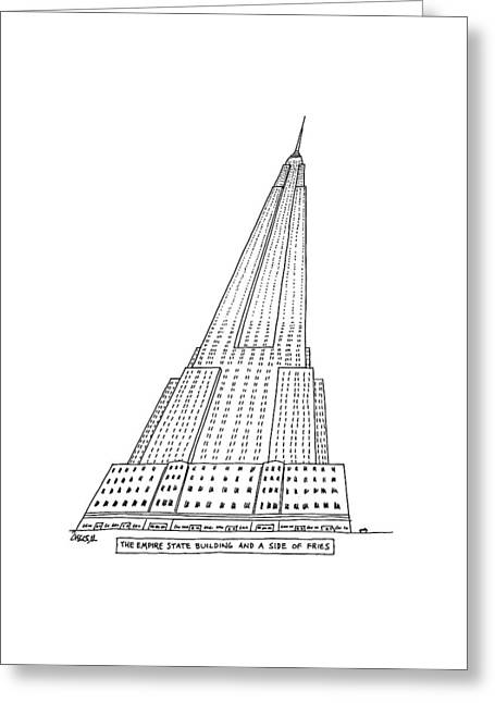 New Yorker January 4th, 1982 Greeting Card