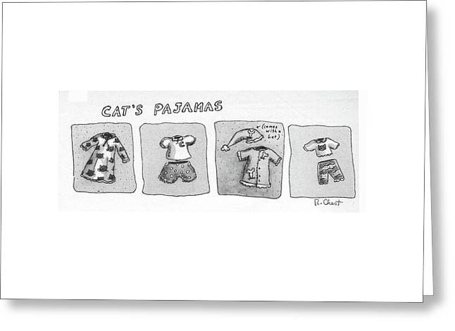 New Yorker January 5th, 1981 Greeting Card by Roz Chast