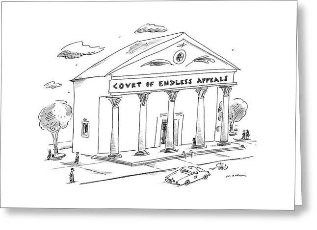 New Yorker January 5th, 1998 Greeting Card