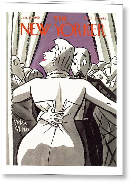 New Yorker January 6th, 1940 Greeting Card