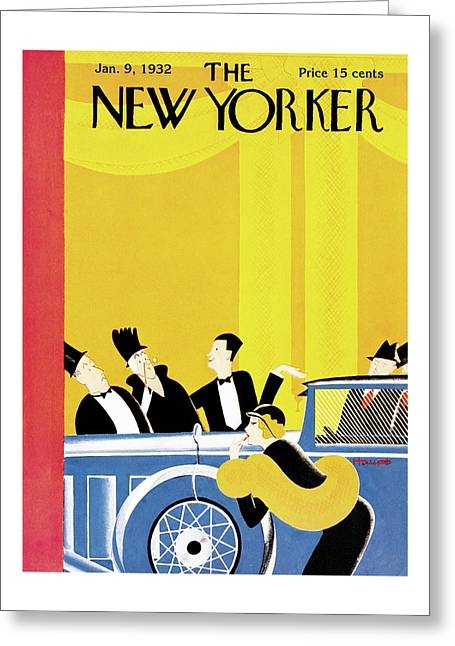 New Yorker January 9th, 1932 Greeting Card