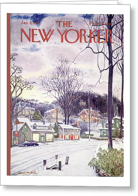 New Yorker January 9th, 1965 Greeting Card