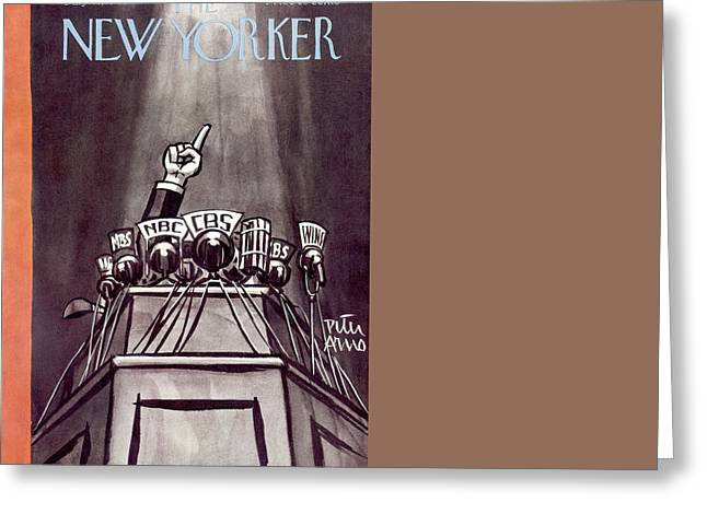 New Yorker July 10th, 1948 Greeting Card by Peter Arno