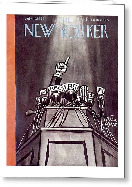 New Yorker July 10th, 1948 Greeting Card