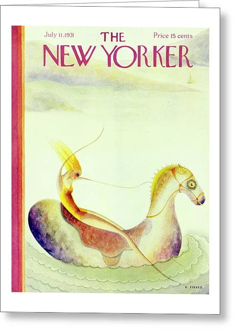 New Yorker July 11 1931 Greeting Card