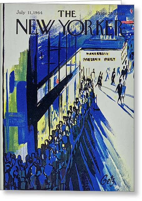 New Yorker July 11th 1964 Greeting Card