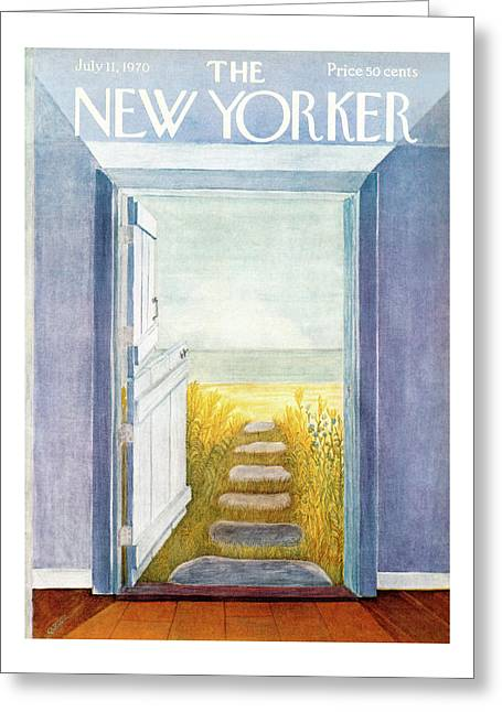 New Yorker July 11th, 1970 Greeting Card