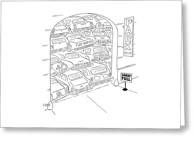 New Yorker July 11th, 1977 Greeting Card