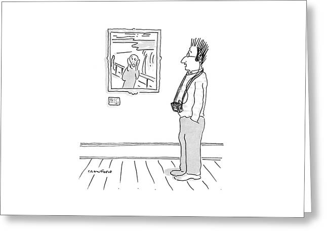 New Yorker July 11th, 1988 Greeting Card