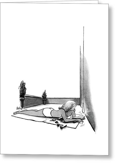 New Yorker July 12th, 1952 Greeting Card