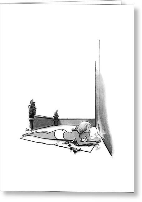 New Yorker July 12th, 1952 Greeting Card by Eldon Dedini