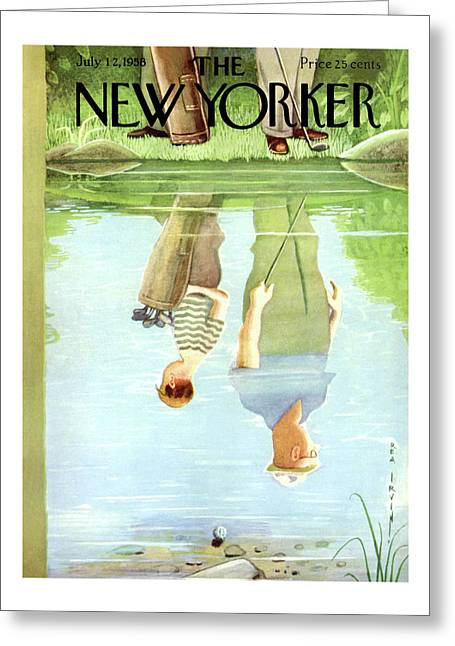 New Yorker July 12th, 1958 Greeting Card