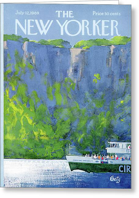 New Yorker July 12th, 1969 Greeting Card