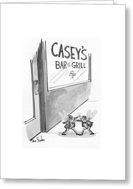New Yorker July 12th, 1976 Greeting Card by Dana Fradon