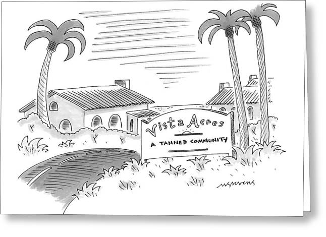New Yorker July 12th, 1999 Greeting Card by Mick Stevens