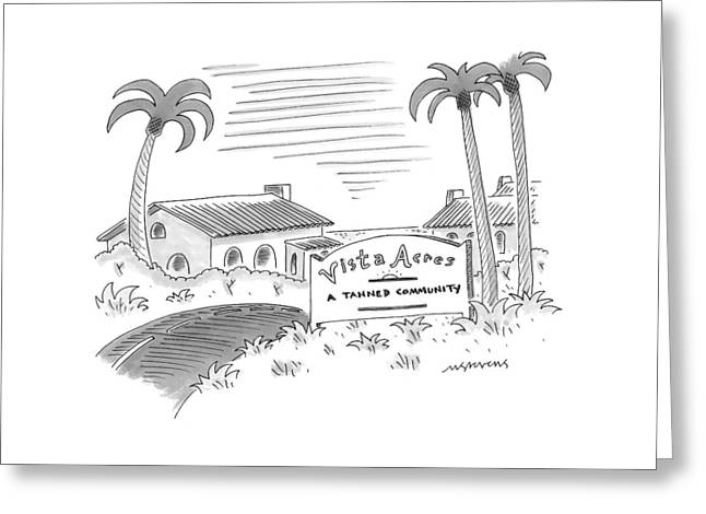 New Yorker July 12th, 1999 Greeting Card