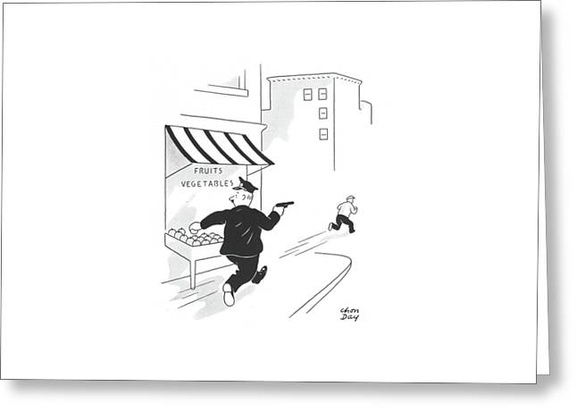 New Yorker July 13th, 1940 Greeting Card