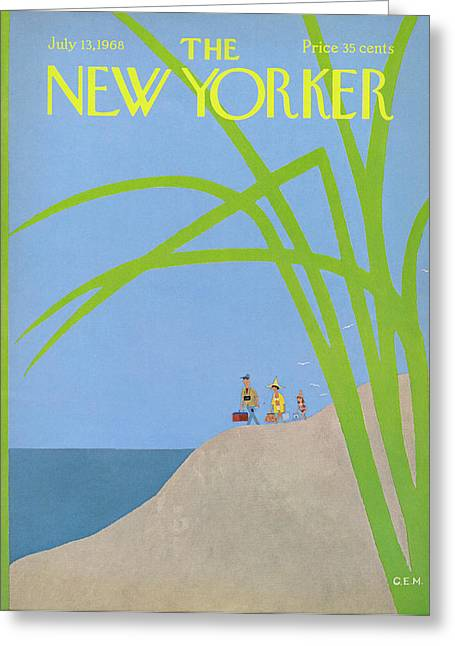 New Yorker July 13th, 1968 Greeting Card by Charles E. Martin