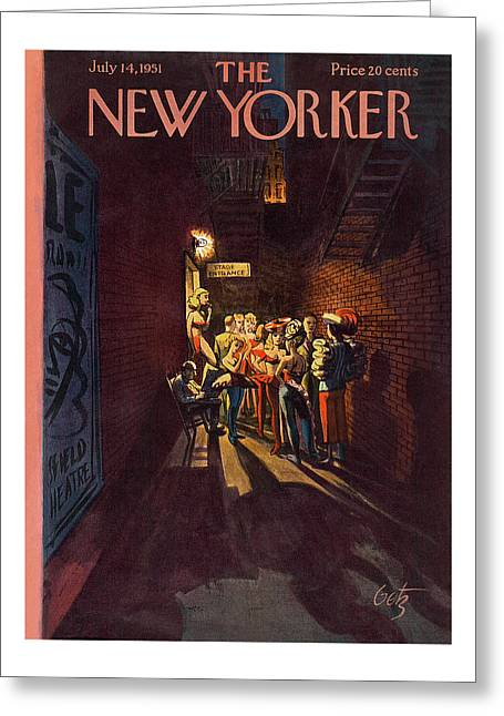 New Yorker July 14th, 1951 Greeting Card