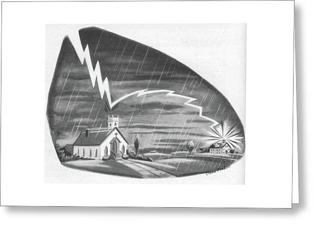 New Yorker July 14th, 1956 Greeting Card