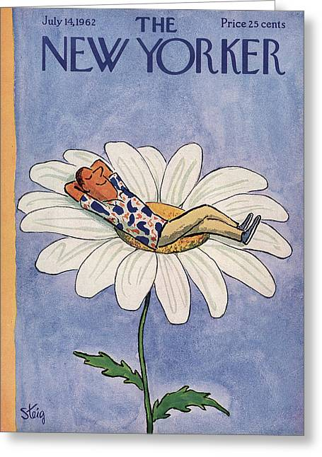 New Yorker July 14th, 1962 Greeting Card