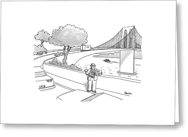 New Yorker July 14th, 1997 Greeting Card by Jack Ziegler