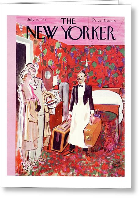 New Yorker July 15th, 1933 Greeting Card