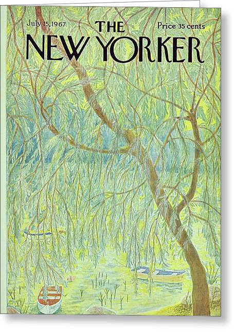 New Yorker July 15th 1967 Greeting Card