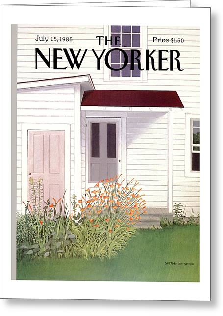 New Yorker July 15th, 1985 Greeting Card