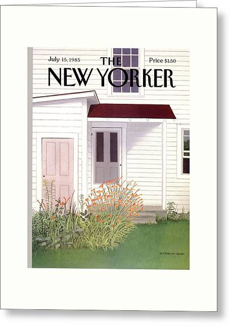 New Yorker July 15th, 1985 Greeting Card by Gretchen Dow Simpson