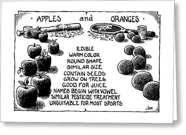 New Yorker July 15th, 1991 Greeting Card by John Jonik