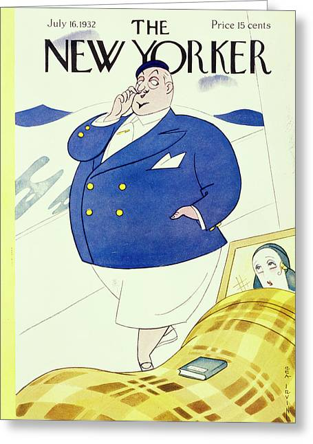 New Yorker July 16 1932 Greeting Card