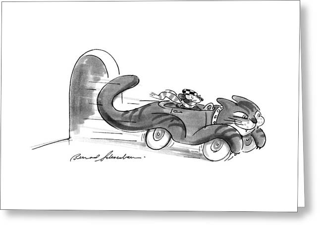 New Yorker July 16th, 1990 Greeting Card